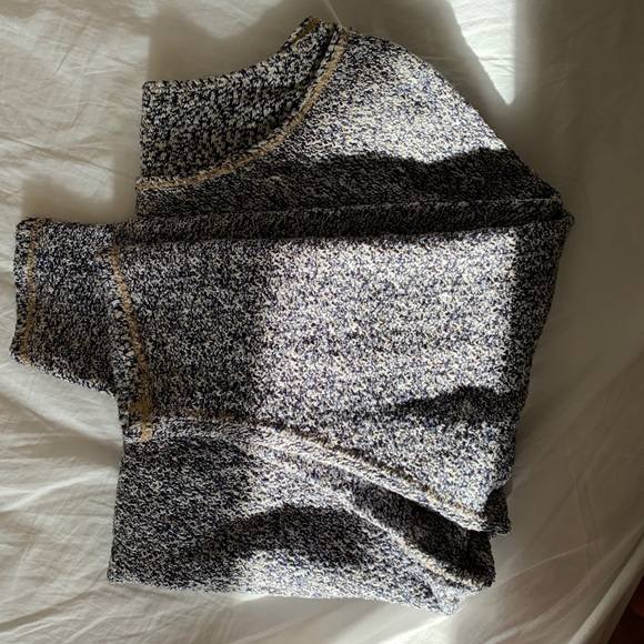 AMERICAN APPAREL Reversible Speckled Sweater
